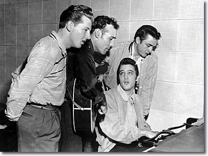 The Million Dollar Quartet : Jerry Lee Lewis, Carl Perkins, Elvis & Johnny Cash