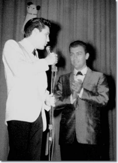 Elvis Presley and Ray Walker - Ellis Auditorium 1961