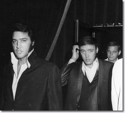 Elvis Presley and Richard Davis