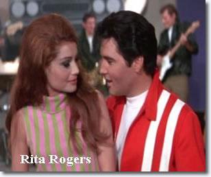 Rita Rogers and Elvis Presley in Speedway