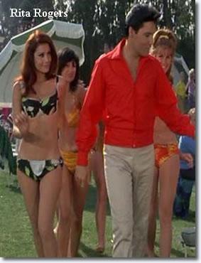 Rita Rogers and Elvis Presley