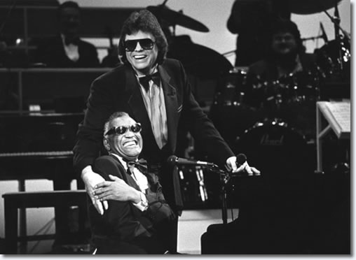 Ronnie Missap with the legendary, Ray Charles