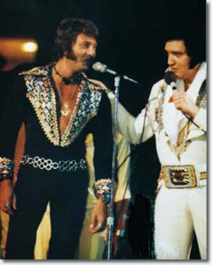 Shaun 'Sherrill' Nielsen and Elvis Presley