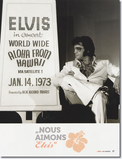 Elvis Presley : September 4, 1972 : The first press conference as featured in the Boxcar book, Aloha Via Satellite [Page 15].