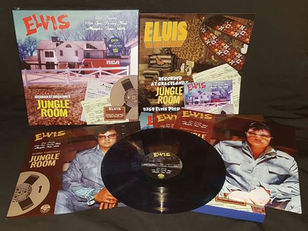 '3764 Elvis Presley Blvd' 3 LPs + 2 CDs + Book LP Size Deluxe Limited Edition Box Set (Blue vinyl).