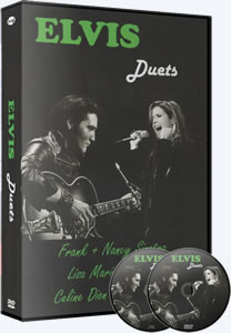Elvis Duets DVD (with bonus CD).