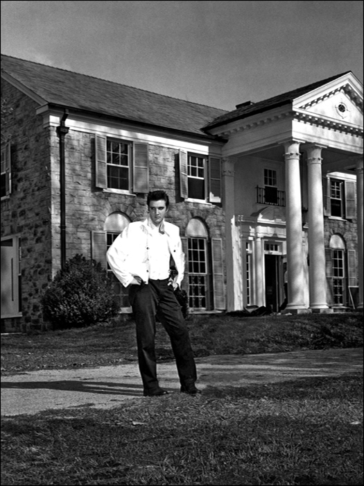 Elvis spent much of his time touring and on movie sets, but he always came home to Graceland.