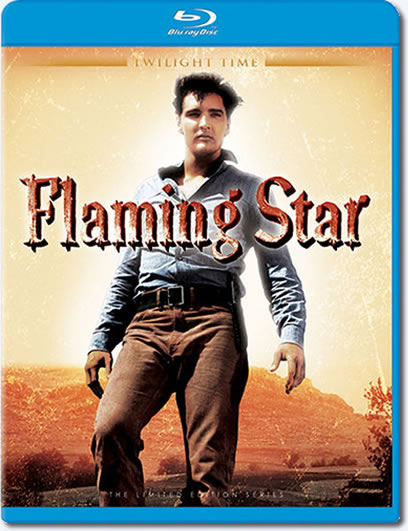 Elvis Presley Flaming Star Blu-ray.