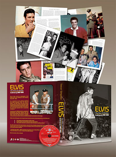 'Best Of British : The RCA Years 1957-1959' Hardcover book + 2 CDs