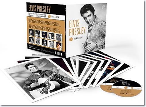 Elvis Presley : Music & Photo's Book, 2 CDs + Photos
