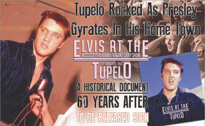 'Elvis at The Mississippi-Alabama Fair and Dairy Show, TUPELO' hardcover Book