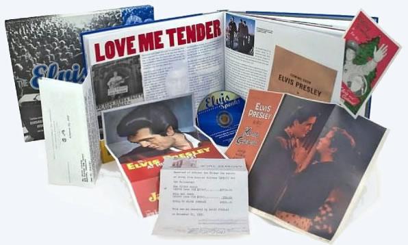 Elvis Presley: Elvis Treasures by Robert Gordon Book and CD.