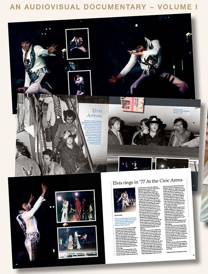 'The February 1977 Tour : An Audiovisual Documentary : Volume I' Hardcover Book