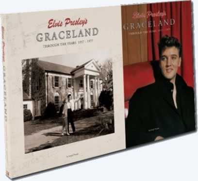 Graceland Through The Years 1957-1977 Hardcover Book : with Deluxe sleeve.