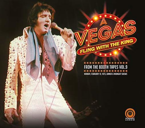 A Vegas Fling With The King 2 CD Set.