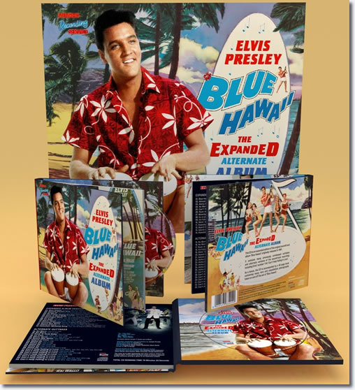 Blue Hawaii : The Expanded Alternate Album CD and Book