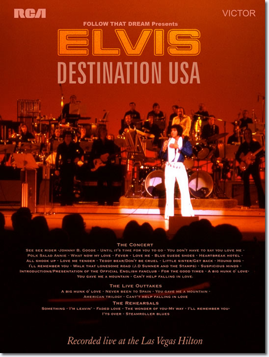 Elvis : Destination USA.