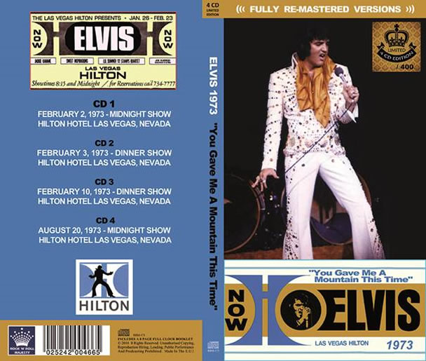 Elvis 1973 'You Gave Me A Mountain This Time' (4 CD Longbox).