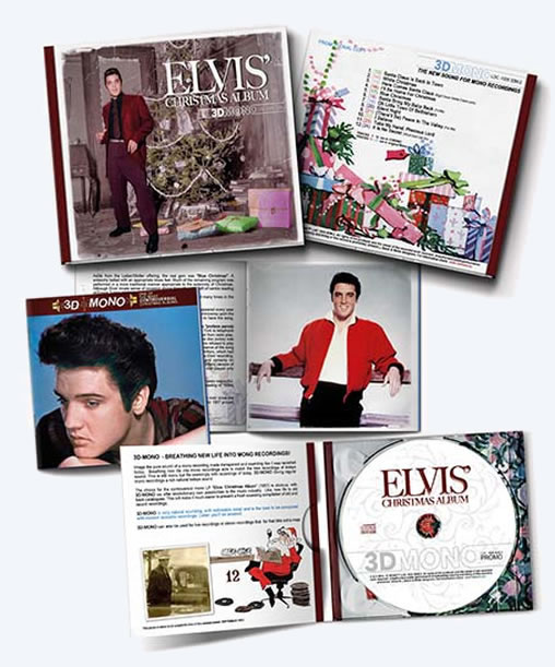 Elvis' Christmas Alum CD in 3D