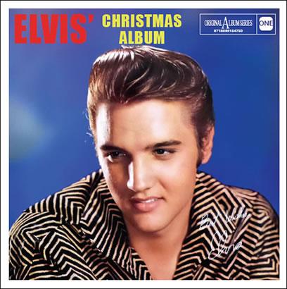 'Elvis' Christmas Album' UK (re)issue CD in the original album series