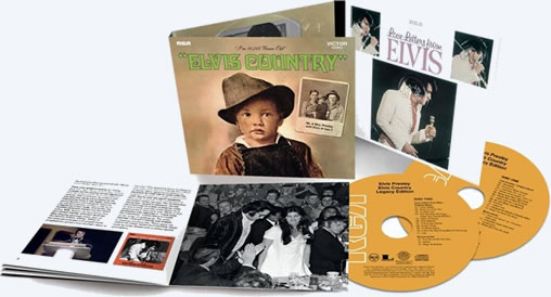 Elvis Presley Returns to Nashville On Elvis Country: Legacy Edition