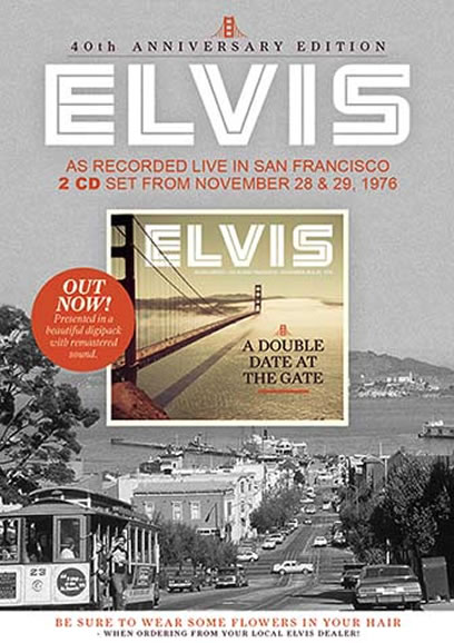 Elvis : Double Date At The Gate : 40th Anniversary Edition 2 CD Set.