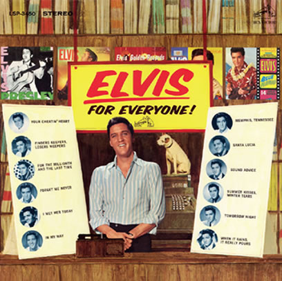 "'Elvis For Everyone' FTD 2 CD Classic Album (Deluxe 7"" size packaging)."