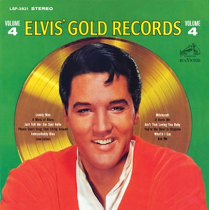 'Elvis Gold Records Vol. 4' FTD 2 CD Classic Album.