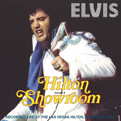 Elvis Hilton Showroom Volume 5 CD.