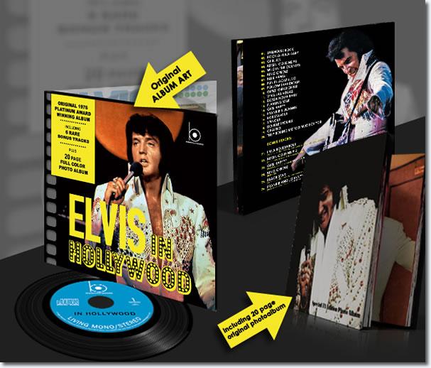 Elvis In Hollywood : The Bootleg Series CD.