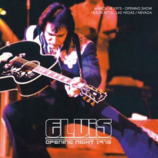 Elvis Opening Night 1975 CD.