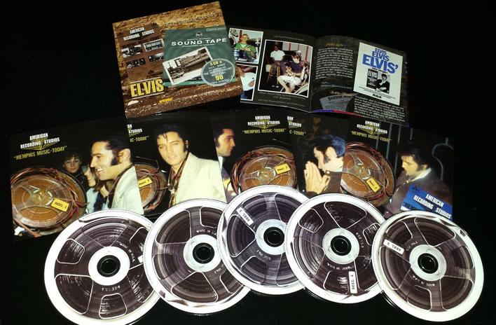 Elvis Presley : 827 Thomas Street 5 CD 1969 Recordings Box Set