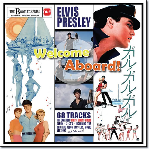 Elvis Presley : Welcome Aboard! (Bootleg Series) 2 CD Set
