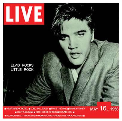 'Elvis Rocks Little Rock' CD