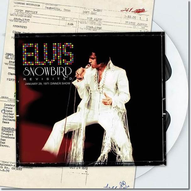 Elvis : Snowbird Revisited CD : January 29, 1971 Dinner show