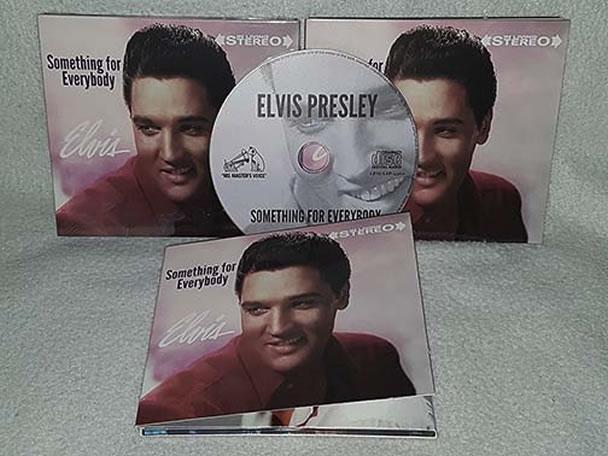 Elvis: Something For Everybody (Alternate Album) CD.