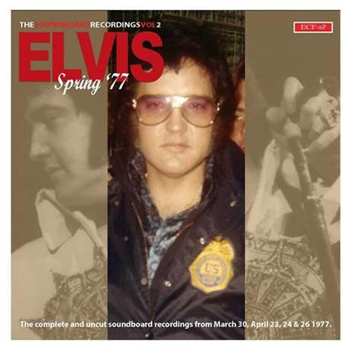 'Elvis Spring '77 : The Soundboard Recordings Vol.2' 2 CD Set