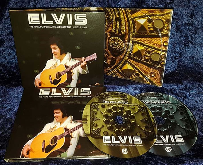 Elvis : The Final Performance June 26th 1977 2 CD Set.