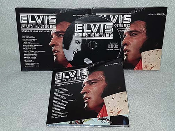 Elvis: Until It's Time For You To Go (Songs Of Love And Heartache) CD.