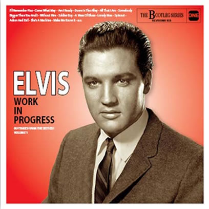 Elvis Work In Progress - Volume 1 CD.