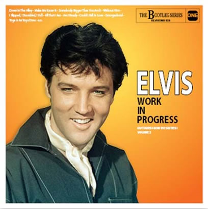 Elvis Work In Progress - Volume 2 CD.