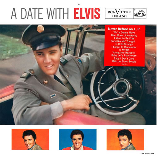 'A Date With Elvis' 2 CD Set in the FTD Classic Album series.