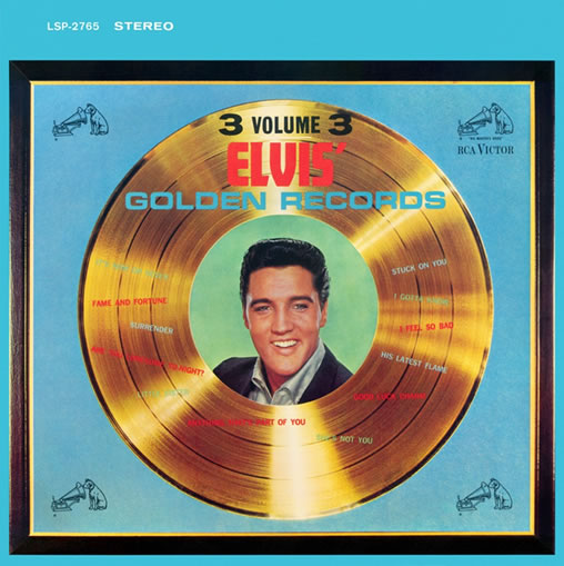 'Elvis Golden Records Vol. 3' is a new 2-CD release in the Follow That Dream (FTD) labels classic album series.