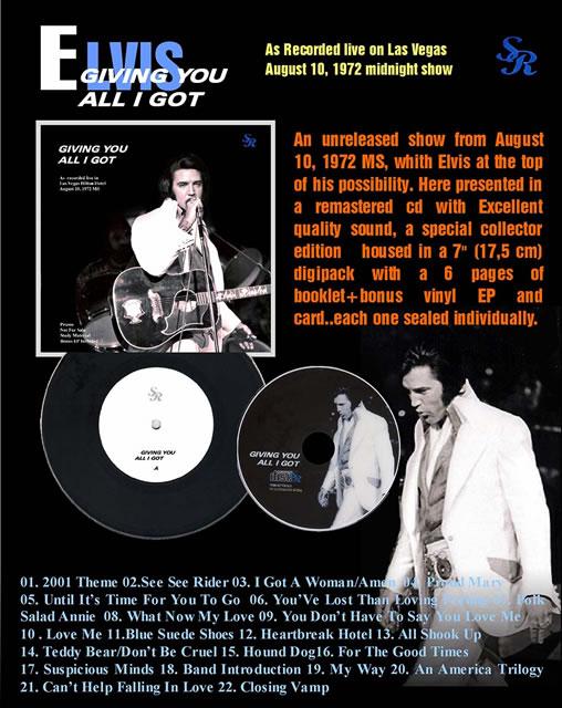 Giving You All I Got Vinyl EP + CD