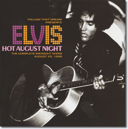 Hot August Night : FTD CD : August 25, 1969 : Booklet cover.