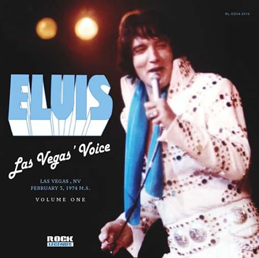 'Las Vegas' Voice : Volume One' from Rock Legends