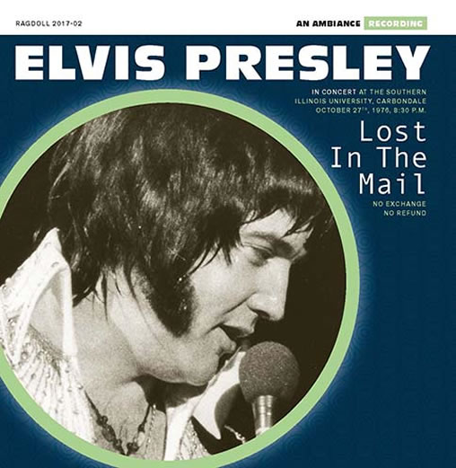 Elvis: 'Lost In The Mail' CD.