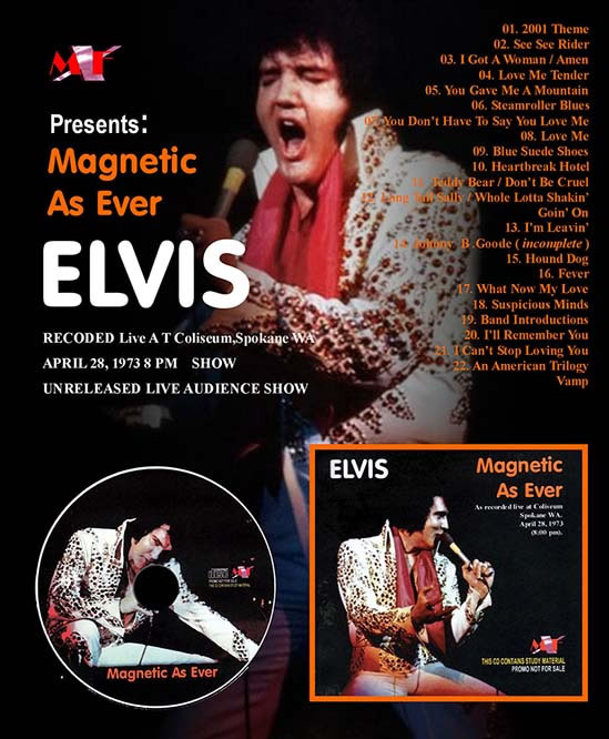'Magnetic As Ever', April 28, 1973 8.00 PM Show CD