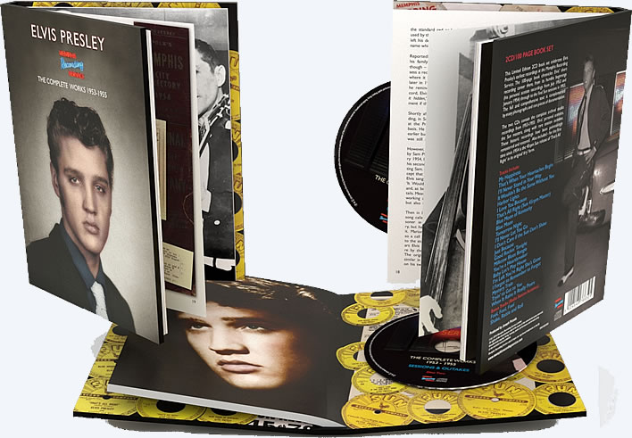 'Memphis Recording Service: The Complete Works 1953-1955' 2CD/100 page book.