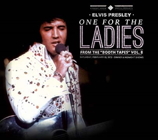 Elvis Presley : One For The Ladies : From the 'booth tapes' Vol. 8 2 CD.